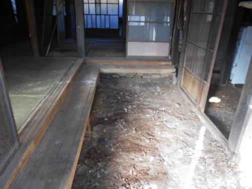 写真:清掃後の空間
