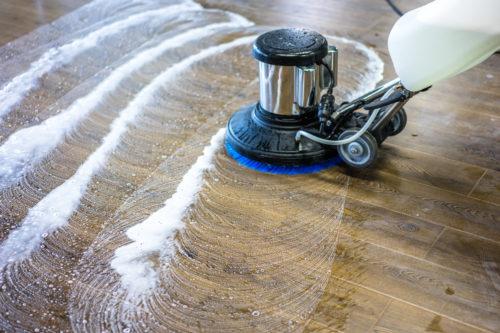 写真:床清掃のイメージ