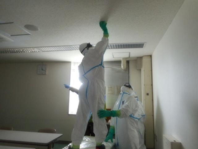 新形コロナウイルス 除菌・消毒作業